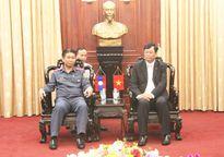 Lãnh đạo VKSNDTC tiếp Đoàn đại biểu VKSND tỉnh Luông Pha Băng nước CHDCND Lào