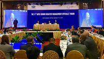 Khai mạc Hội nghị APEC về Quản lý thiên tai tại Nghệ An