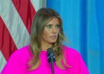 Melania Trump phát biểu tại LHQ, kêu gọi thế giới đoàn kết vì trẻ em