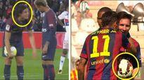 'Ông vua con' Neymar và lòng tốt của Messi