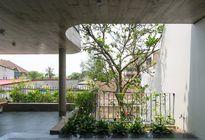 Ngôi nhà xanh mướt kết hợp kiến trúc Đông - Tây ở Nghệ An