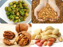 Ăn các loại hạt để giảm nguy cơ béo phì