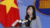 Người phát ngôn Việt Nam trả lời câu hỏi nóng liên quan một số quốc gia