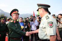 Bắt đầu giao lưu hữu nghị quốc phòng biên giới Việt-Trung lần thứ 4