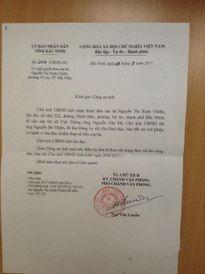 Vụ lãnh đạo xã Việt Thống bị tố nhận 400 triệu: Băng ghi âm có những gì?