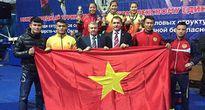 Đội tuyển Võ phức hợp Bộ Công an Việt Nam đoạt HCV tại giải Võ phức hợp quốc tế