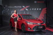 Toyota giới thiệu mẫu sedan Corola Altis X, giá 589 triệu đồng