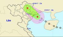Đề phòng sóng biển cao 2-3m, ngập ở nhiều thành phố và lũ quét do áp thấp nhiệt đới