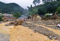Áp thấp nhiệt đới gây mưa to vùng Đông Bắc