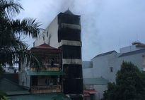 Cháy nhà ở Hà Nội trong đêm, 2 cháu bé tử vong