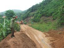 Đảm bảo giao thông và khắc phục thiệt hại do áp thấp nhiệt đới