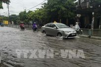 Áp thấp nhiệt đới đã vào đất liền các tỉnh Quảng Ninh - Hải Phòng