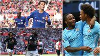 BXH Premier League 2017/2018 sau vòng 6: MU xếp sau Man City