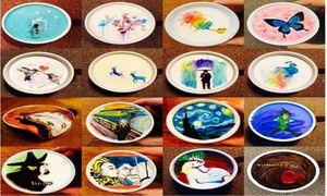Nghệ thuật vẽ tranh trên ly cafe khiến bạn mê đắm
