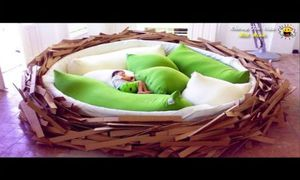 Những chiếc giường độc đáo và kỳ lạ nhất thế giới