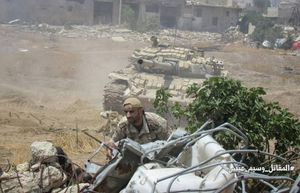 Quân đội Syria tấn công dữ dội, phong tỏa phiến quân ven Damacus