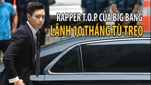 T.O.P của Big Bang lãnh 10 tháng tù treo