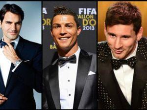 Siêu nhân Federer: Ronaldo – Messi cũng không sánh bằng