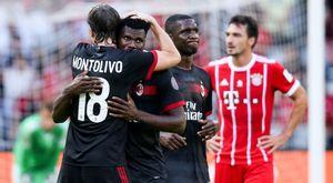 Milan đại thắng Bayern 4-0, gieo hy vọng về đế chế hồi sinh