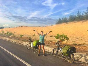 Đã tìm thấy xe đạp bị mất trộm của cô gái Tây đi xuyên Việt