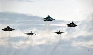 Mãn nhãn nhìn siêu chiến đấu cơ Nga T-50 sải cánh thị uy tại triển lãm hàng không