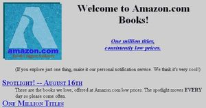 Những cột mốc phát triển của Amazon trong 22 năm