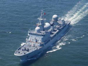 Tàu do thám Trung Quốc áp sát tập trận Mỹ - Australia