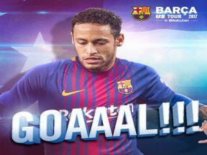Neymar ghi bàn siêu solo, qua liền 5 cầu thủ Juventus
