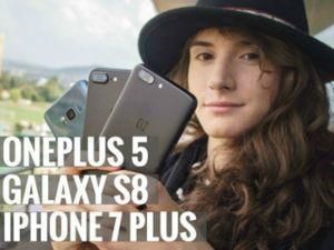 Đọ camera giữa bộ ba Galaxy S8, iPhone 7 Plus và OnePlus 5
