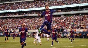 Neymar lập cú đúp, giúp Barcelona đánh bại Juventus