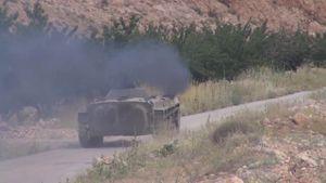 Video chiến sự Syria: Vệ binh Cộng hòa tiến công phiến quân ở biên giới Lebanon