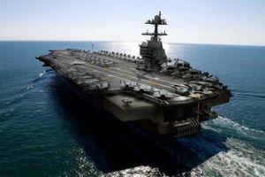Mỹ đưa vào sử dụng tàu sân bay USS Gerald R. Ford