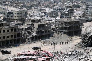 Mosul sầm uất hóa tan hoang sau 9 tháng bị IS chiếm đóng