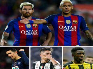 Barca đại loạn: Neymar đến PSG, Messi có 'Dải ngân hà' thay thế