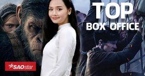 Phim chiến tranh của đạo diễn 'Batman' thắng tại Mỹ, 'Cô gái đến từ hôm qua' và 'Hành tinh khỉ' vẫn giữ vững phong độ