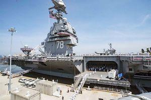 Hải quân Mỹ tiếp nhận siêu tàu sân bay