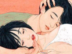 Bộ tranh lột tả phút yêu đầu của những người mộng mơ