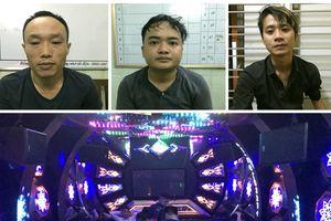 Khởi tố, tạm giữ 3 đối tượng trong vụ 'thác loạn' tại quán karaoke