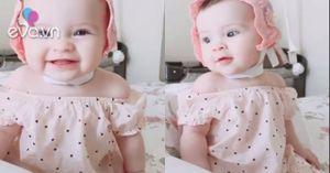 Cô bé xinh như thiên thần khiến mọi trái tim đều bị đốn gục