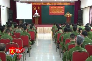Nâng cao nghiệp vụ cơ bản cho lực lượng Cảnh sát QLHC và CSKV