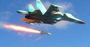Không quân Nga san phẳng một sở chỉ huy của phiến quân ven Damascus (video)