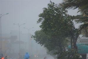 Bão thành áp thấp nhiệt đới, miền Trung có nơi mưa rất to