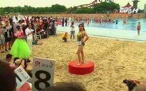 Trung Quốc: Tưng bừng cuộc thi bikini dành cho người già