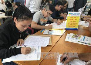 Có 300.000 thí sinh điều chỉnh nguyện vọng đăng ký xét tuyển