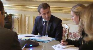 Tổng thống Pháp Emmanuel Macron đăng video có lời chào của ông Putin