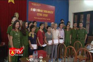 Đoàn Thanh niên Cảnh sát PCCC tổ chức nhiều hoạt động đền ơn, đáp nghĩa
