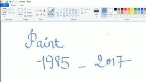 Microsoft Paint sẽ bị khai tử sau 32 năm