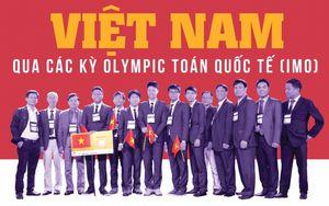 8 người Việt xuất sắc giành hai huy chương vàng Olympic Toán quốc tế