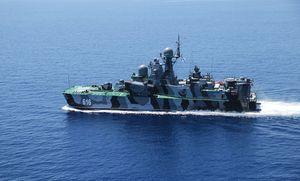 Dàn tàu chiến uy lực nhất nước Nga chuẩn bị cho Ngày Hải quân