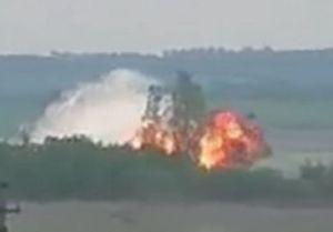 Máy bay quân sự Nga rơi, nổ tung thành cầu lửa trước khi hạ cánh